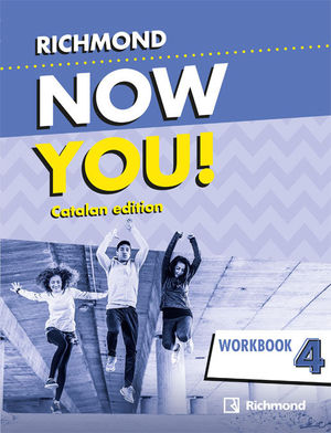 NOW YOU! 4 WORKBOOK CATALAN PACK