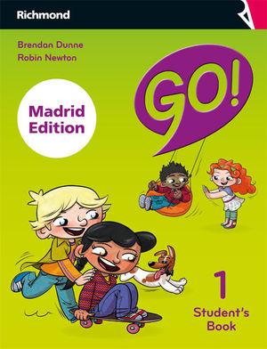 GO! 1 STUDENT'S PACK MADRID