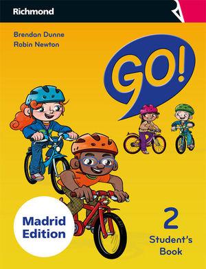 GO! 2 STUDENT'S PACK MADRID
