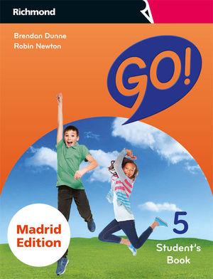 GO! 5 STUDENT'S MADRID