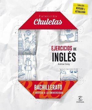 COLECCION CHULETAS.  EJERCICIOS DE INGLES FACIL PARA BACHILLERATO