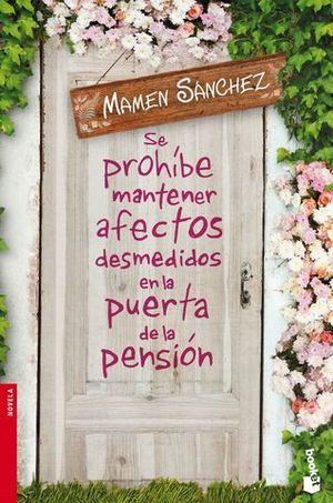 SE PROHIBE MANTENER AFECTOS DESMEDIDOS EN LA PUERTA DE LA PENSION