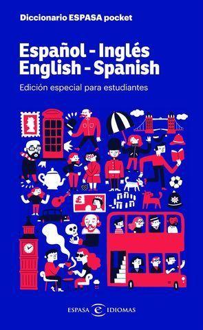 DICCIONARIO POCKET ESPAÑOL - INGLES / INGLES - ESPAÑOL