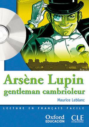MISE EN SCENE NIVEAU 2 ARSENE LUPIN GENTLEMAN CAMBRIOLEUR + CD