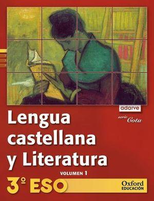 LENGUA CASTELLANA Y LITERATURA 3º ESO COTA ADARVE TRIMESTRAL