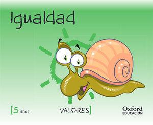 VALORES 5 AÑOS IGUALDAD ED. 2014
