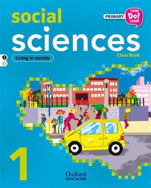 SOCIAL SCIENCES 1 CLASS BOOK THIK DO LEARN ED. 2014