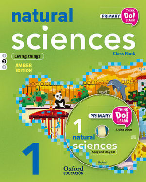 THINK NATURAL SCIENCE 1º EP LA PK M2 ´ LIVING THINGS ´ ED. 2015
