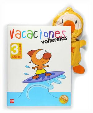 VACACIONES VOLTERETAS 3 AÑOS
