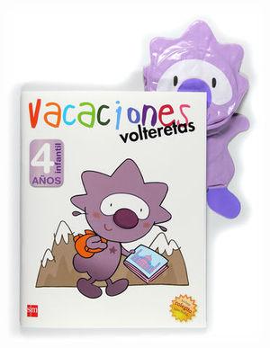 VACACIONES VOLTERETAS 4 AÑOS