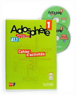 ADOSPHERE 1 CAHIER D´ACTIVITES