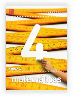 MATEMATICAS CONECTA 2.0 4º PRIMARIA