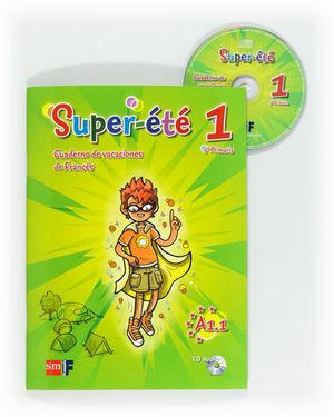 SUPER-ETE 1 5º PRIMARIA CUADERNO VACACIONES FRANCES