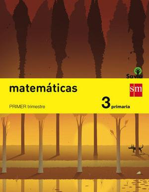 MATEMATICAS 3º EP TRIMESTRAL SAVIA 2014
