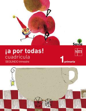 1º EP GLOBALIZADO 2º TRIMESTRE CUADRICULA SAVIA 2014