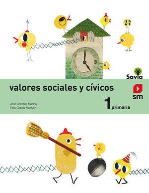 VALORES SOCIALES Y CIVICOS 1º EP SAVIA 2014