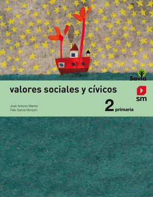 VALORES SOCIALES Y CIVICOS 2º PRIMARIA SAVIA