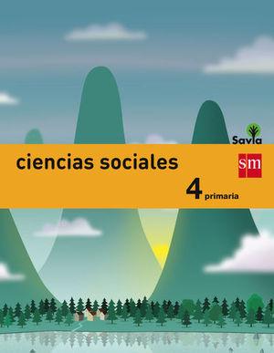 CIENCIAS SOCIALES 4º EP ´ GENERAL ´ SAVIA ED. 2015