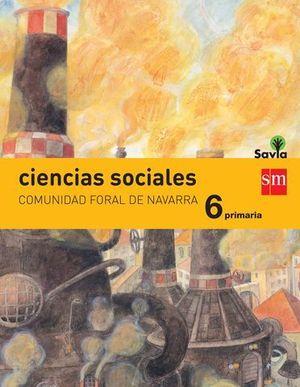 CIENCIAS SOCIALES 6º EP ´ NAVARRA ´ SAVIA ED. 2015