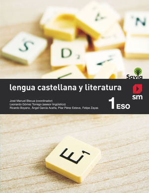 LENGUA Y LITERATURA 1º ESO SAVIA ED. 2015