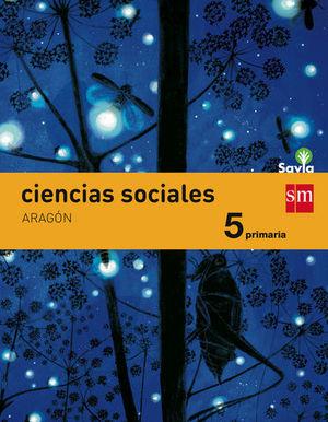 CIENCIAS SOCIALES 5º EP ARAGON INTEGRADO SAVIA ED. 2015