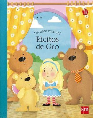 RICITOS DE ORO UN LIBRO CARRUSEL