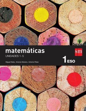 MATEMATICAS 1º ESO SAVIA TRIMESTRAL