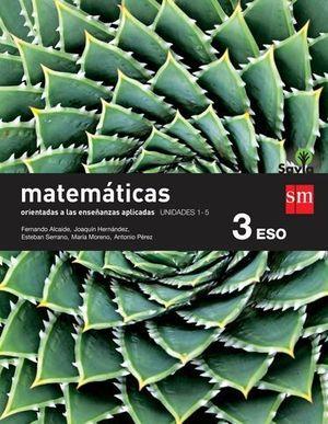MATEMATICAS 3º ESO APLICADAS TRIMESTRAL SAVIA
