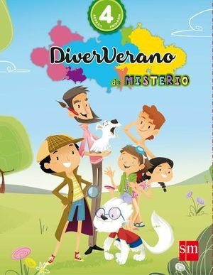 VACACIONES DIVERVERANO DE MISTERIO 4º EP  ED. 2016