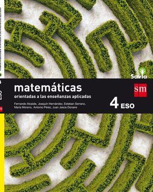 MATEMATICAS A 4º ESO APLICADAS SAVIA ED. 2016