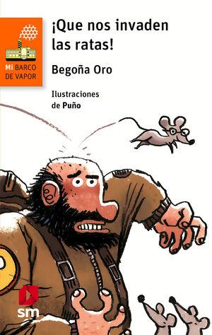 ¡QUE NOS INVADEN LAS RATAS! LIBRO PERSONALIZADO
