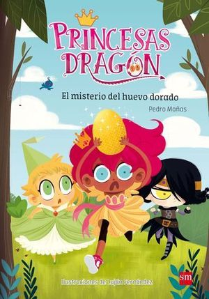 PRINCESAS DRAGON EL MISTERIO DEL HUEVO DORADO