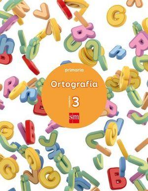 CUADERNO ORTOGRAFIA Nº 3  ED. 2017