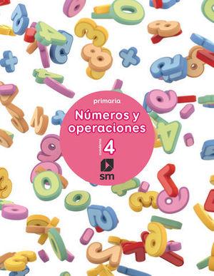 CUADERNO NUMEROS Y OPERACIONES Nº 4  ED. 2017