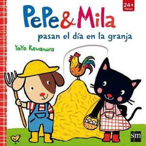 PEPE & MILA PASAN EL DIA EN LA GRANJA