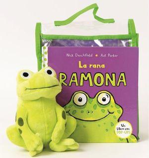 PACK LA RANA RAMONA LIBRO + MUÑECO