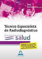TEST PARTE ESPECIFICA TECNICO ESPECIALISTA RADIODIAGNOSTICO SALUD ARAG