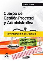 TEST CUERPO GESTION PROCESAL ADMINISTRATIVA ADMINISTRACION JUSTICIA 20