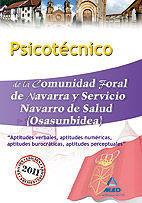 PSICOTECNICO SERVICIO NAVARRO DE SALUD ED. 2011