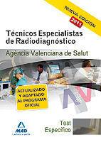 TECNICAS ESPECIALISTAS DE RADIODIAGNOSTICO TEST 2011