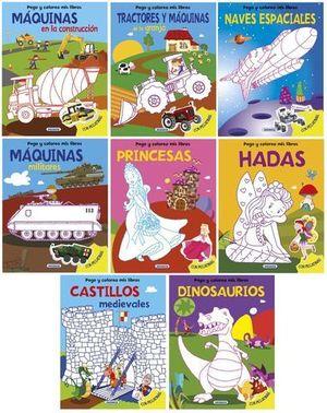 MAQUINAS EN LA CONSTRUCCION PEGO Y COLOREO