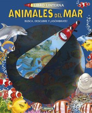 LIBRO LINTERNA.  ANIMALES DEL MAR