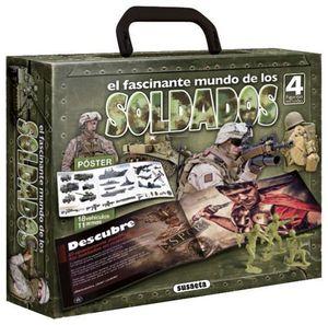 EL FASCINANTE MUNDO DE LOS SOLDADOS. INCLUYE 4 FIGURITAS