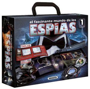 EL FASCINANTE MUNDO DE LOS ESPIAS.  INCLUYE 1 SPY WATCH