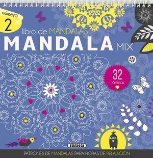 MANDALA MIX 32 LAMINAS AZUL