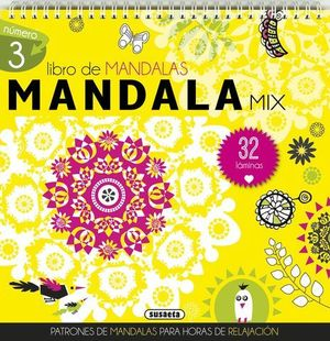 MANDALA MIX 32 LAMINAS AMARILLO