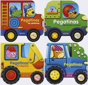 PEGATINAS DE TRACTORES
