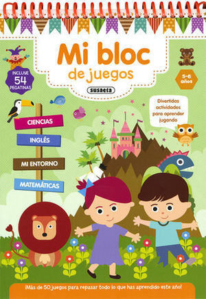 MI BLOC DE JUEGOS  5- 6 AÑOS