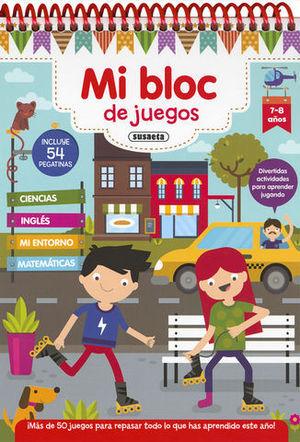 MI BLOC DE JUEGOS 7 - 8 AÑOS