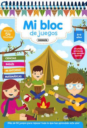 MI BLOC DE JUEGOS  8 - 9 AÑOS